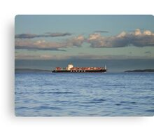 Evening Departure Canvas Print