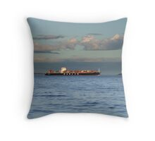 Evening Departure Throw Pillow