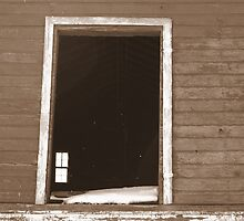 Old barn hayloft with no door by PhotoCrazy6
