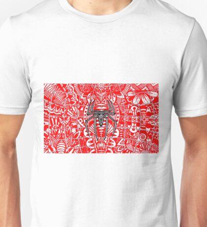 Spider-Man Zentangle Art Unisex T-Shirt