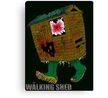 The Walking Shed! Canvas Print