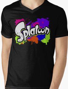 Splatoon Mens V-Neck T-Shirt