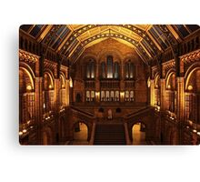 Night at the Museum Canvas Print