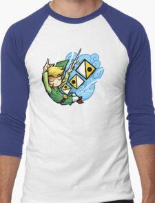 Zelda Wind Waker Wind's Requiem  Men's Baseball ¾ T-Shirt