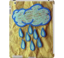 A Rainy Day is A Happy Day iPad Case/Skin