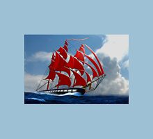 The Clipper Ship Indian Queen Races for Home Unisex T-Shirt