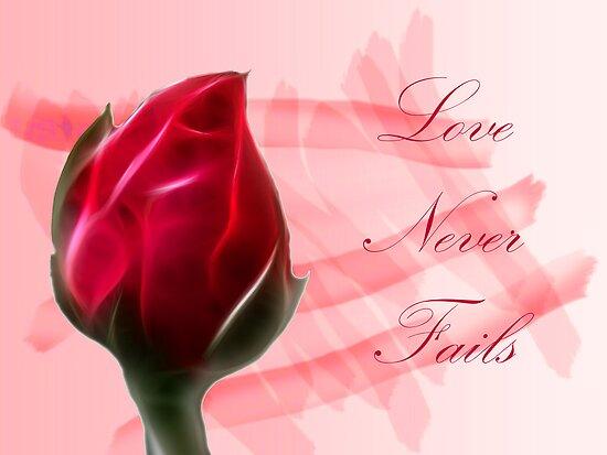 Love Never Fails by George Lenz