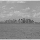 Manhattan B&W by Michael Degenhardt