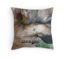 Beagle the Calendar Pin Up! Throw Pillow