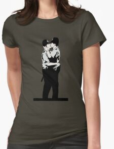 Kissing Coppers Womens Fitted T-Shirt