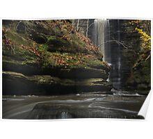 Lake Falls Water Level Poster