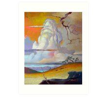 Cottonwood Clouds #3 Art Print