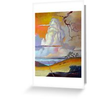 Cottonwood Clouds #3 Greeting Card