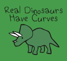 Real Dinosaurs Have Curves One Piece - Short Sleeve