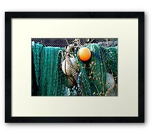 sea yarn Framed Print