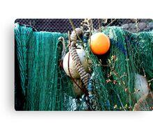 sea yarn Canvas Print