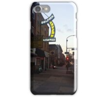 Broad and Tasker Looking South iPhone Case/Skin