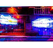 Hookah Bar at Night Photographic Print