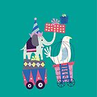 Fun Circus Elephant by Lucinda Kidney