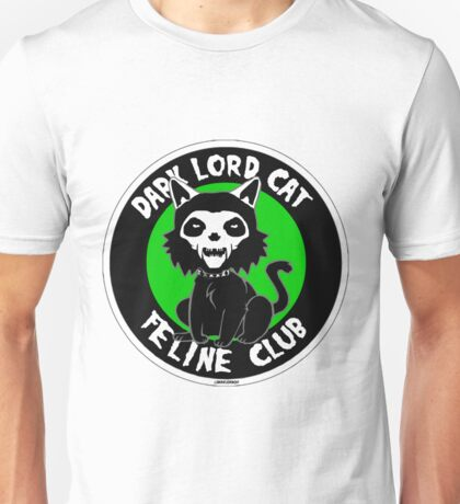 Dark Lord Cat Feline Club Unisex T-Shirt