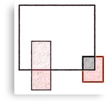 Abstract Art Squares Canvas Print