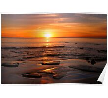 Cable Beach Sundown Poster