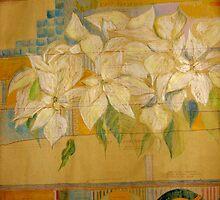 the white x-mas plant by louma Rabah