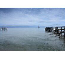 A calm voyage Photographic Print
