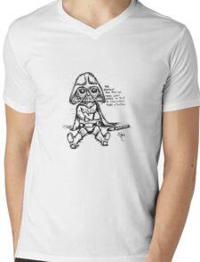 Darthoodle... Mens V-Neck T-Shirt