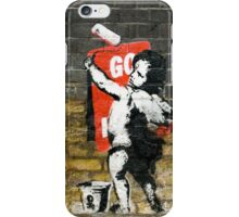 Go to Hell by Banksy iPhone Case/Skin