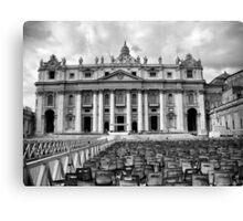 Basilica di San Pietro Canvas Print