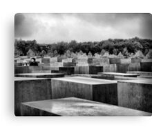 Memorial to the murdered Jews of Europe, Berlin Canvas Print