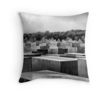 Memorial to the murdered Jews of Europe, Berlin Throw Pillow
