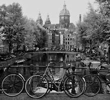 Amsterdam Canal by Eyal Geiger