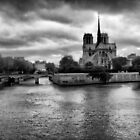 Notre Dame from the Seine by Eyal Geiger