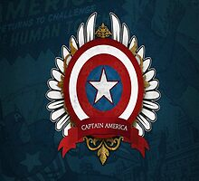 Captain America - Insigne Of Heroes by Dnx-Drift