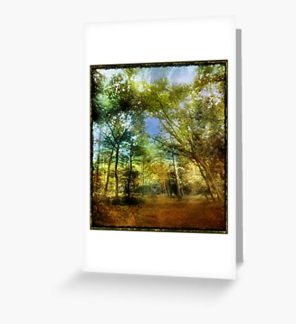 Bacon Woods Greeting Card