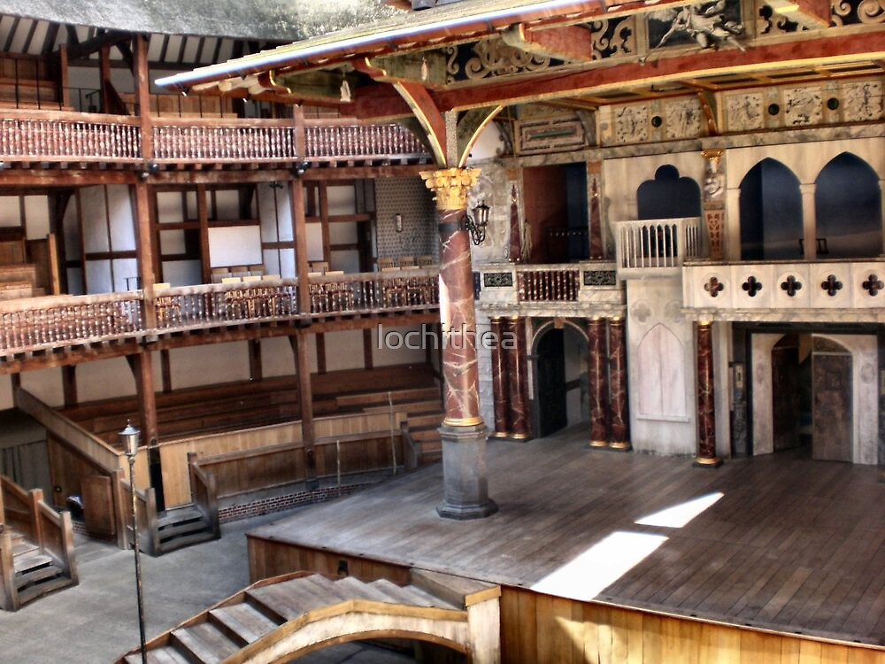 Shakespeare Globe Theater by lochithea