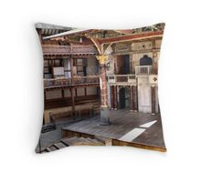 Shakespeare Globe Theater Throw Pillow