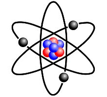 Lithium Atom Photographic Print