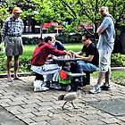 5 Men, A Bird and a Game of Chess by Paul Cush