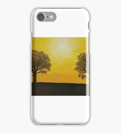 Glowing Trees iPhone Case/Skin