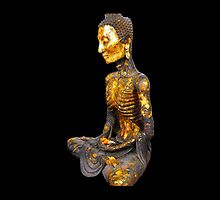 Buddha during his period of fasting. Statue series by nigyoung