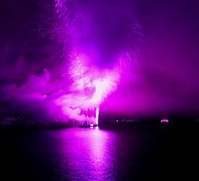 PURPLE RISING by KENDALL EUTEMEY