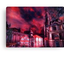 Oblivion Gate is Near! Canvas Print