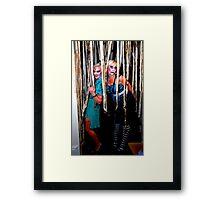 Zombie Dolls Framed Print