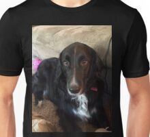 Mitzu the Black Dog Unisex T-Shirt