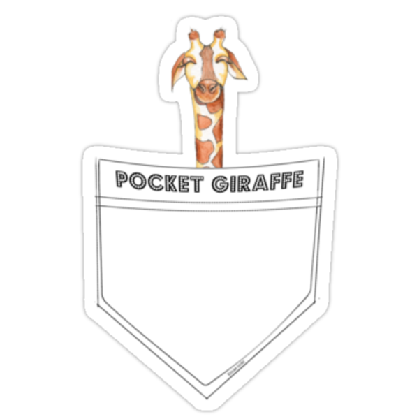 Pocket Giraffe by Amy-Elyse Neer