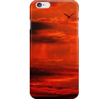 Soaring through a world of lava iPhone Case/Skin