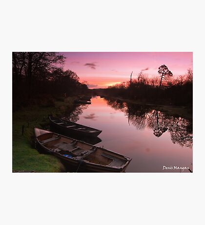 Ross Island Sunrise Photographic Print